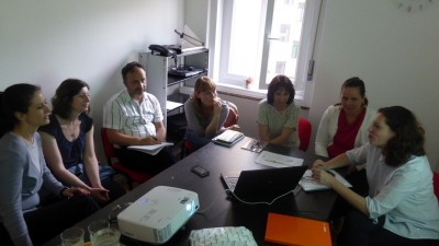 Meeting of the cross-border team on learning of the neighbouring languages in Trieste (Trst) on 14/05/2018