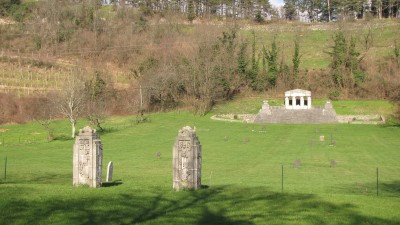 Austro-Hungarian military cemetery from World War I, Štanjel today